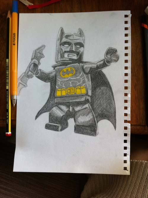 Lego Batman sketch